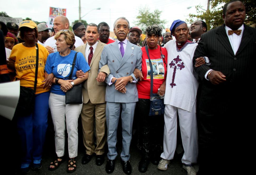 Thousands Protest in Staten Island as Sharpton Vows March on D.C.
