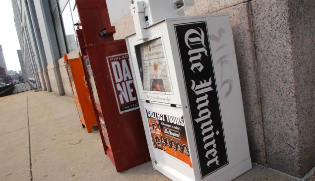 The Philadelphia Inquirer is under a deal of pressure.