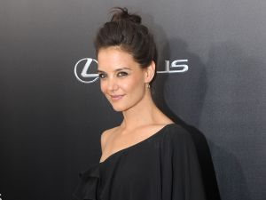 Katie Holmes on the red carpet (Patrick McMullan)