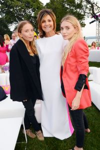 The Olsen Twins with designer and hostess Lisa Perry
