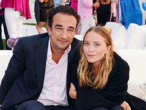 Mary-Kate Olsen with fiancé Olivier Sarkozy
