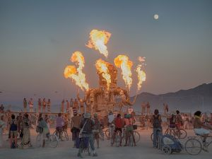 Burning Man 2012. Let them eat... acid? (Photo via Flickr)