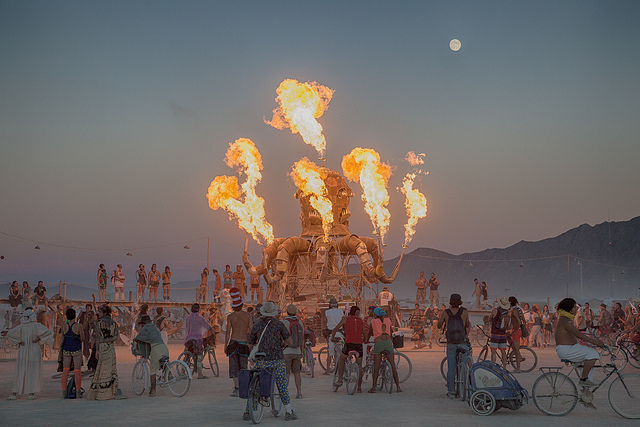 Burning Man Is the Versailles of Silicon Valley