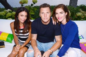 Bethenny Frankle with couple Sean Avery and Hilary Rhoda