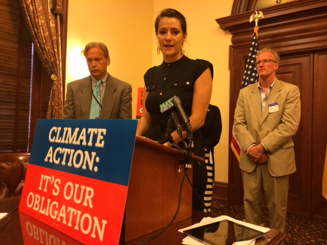 Group of state legislators, affected residents call for New Jersey support for federal action against climate change