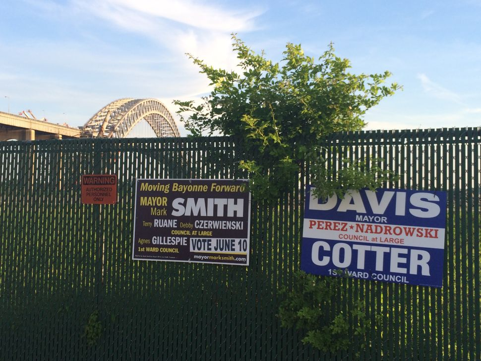 """Battleground Bayonne: Source: """"Somebody is going to get blown out"""" in Bayonne mayoral runoff"""