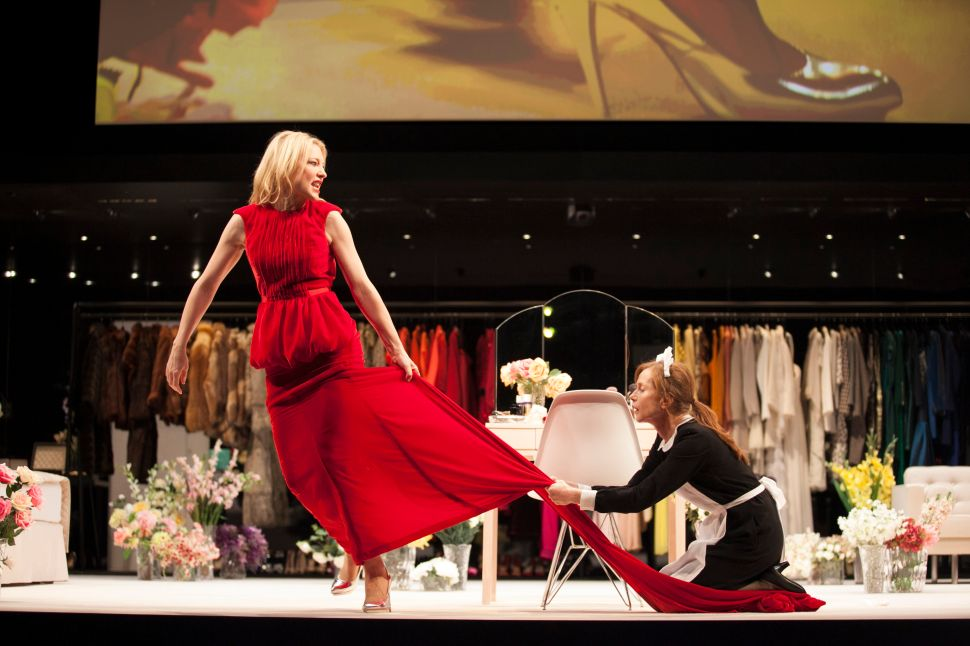 After the Oscar, Cate Blanchett Has It 'Maid'