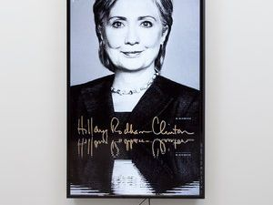 """Hillary / Lakes"" (2014) by Cory Arcangel (Courtesy Team Gallery)"