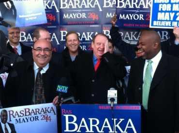 Codey to swear-in Newark Mayor-elect Baraka on July 1st