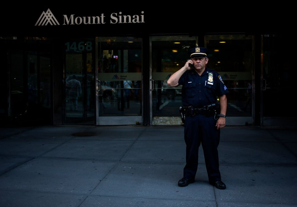 New York City Health Commissioner: 'Highly Unlikely' Mount Sinai Patient Has Ebola