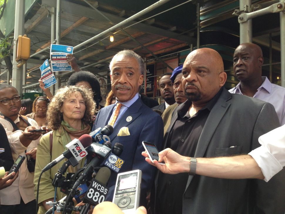 Sharpton Blasts Idea of NYPD Slowdown and Announces Plans for a March