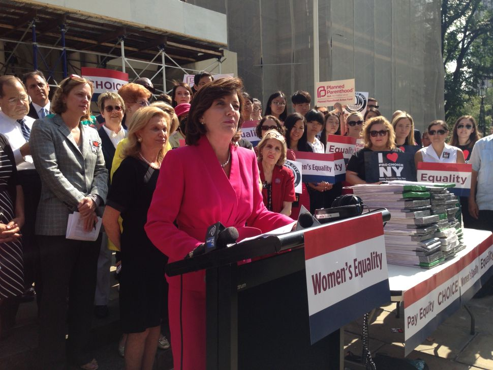 Kathy Hochul and Tim Wu Camps Spar Over Women's Issues