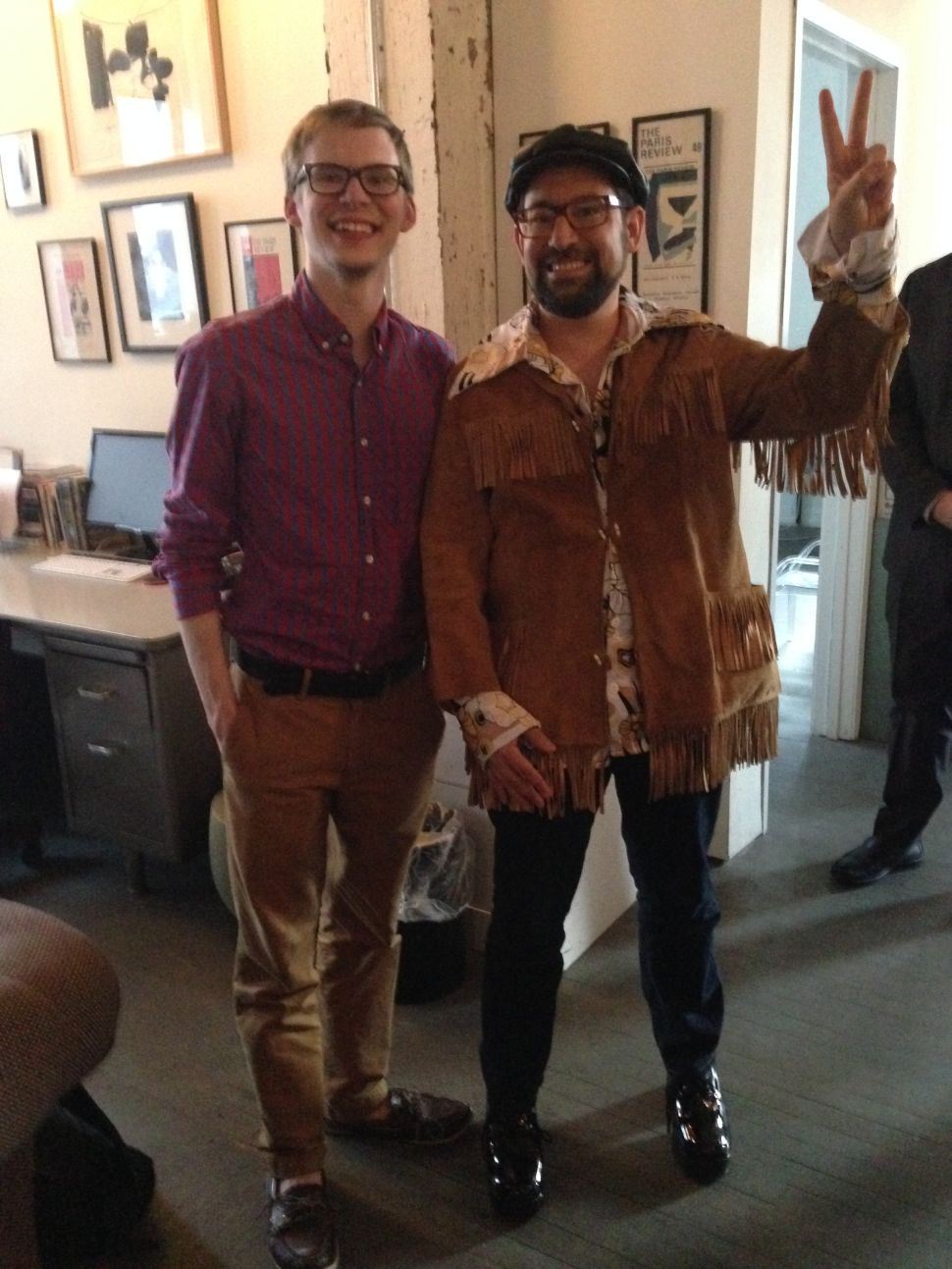 The Paris Review Toasts Rick Perlstein's New Book, The Invisible Bridge