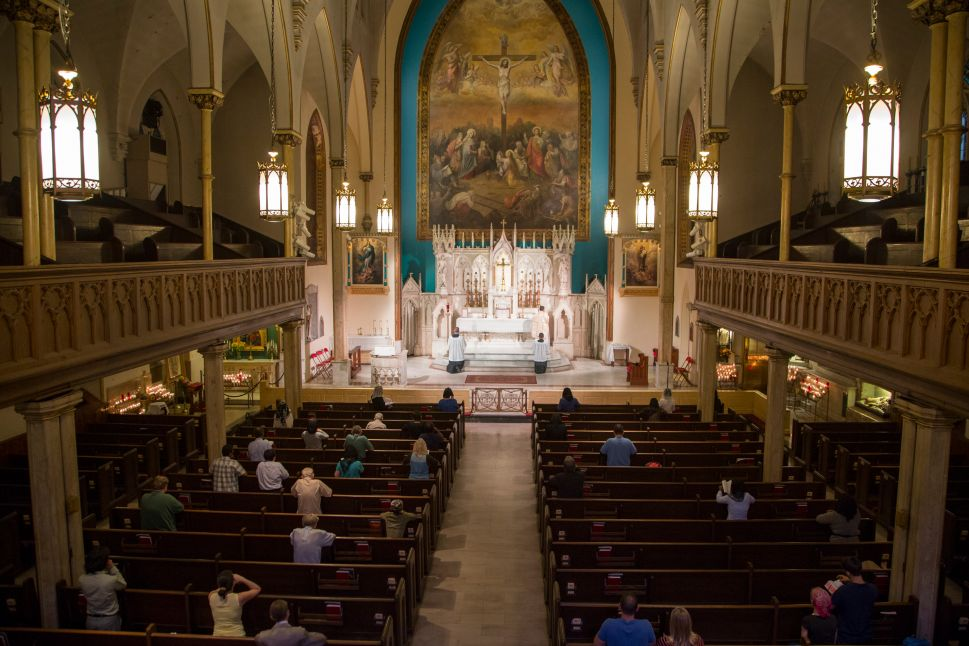 The Last Daily Latin Mass in New York Is Facing Extinction