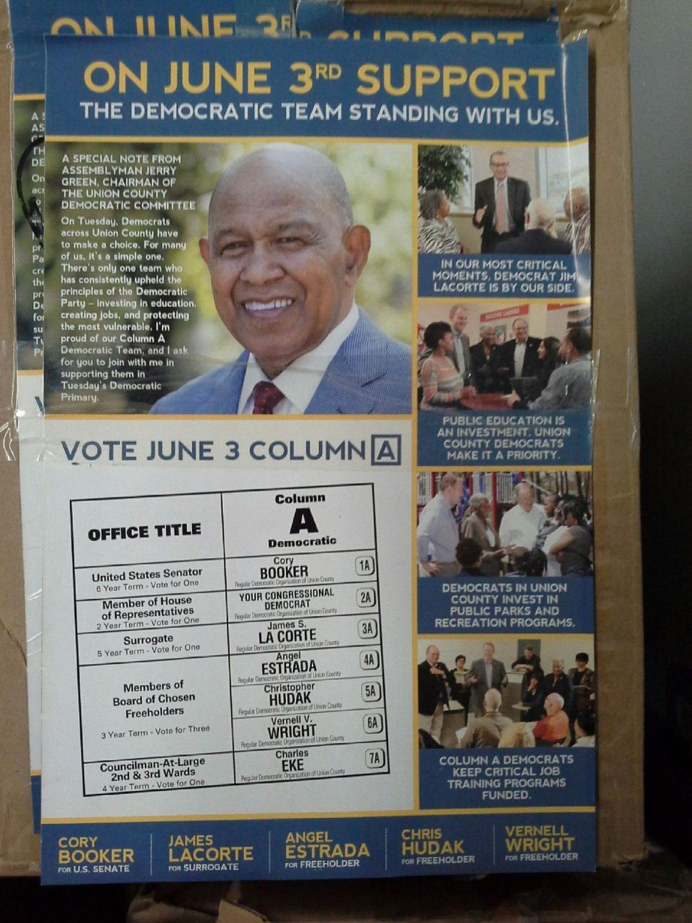 CD12 Collision: Mapp goes after Green over mail piece