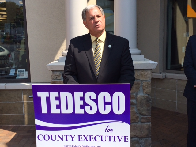 Bergen County Exec's race: Tedesco unveils economic development plan