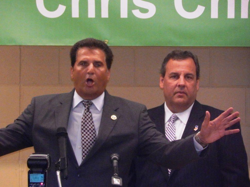 DiVincenzo won't endorse Christie for prez; Guv won't leave office until he's the nominee, Joe D says