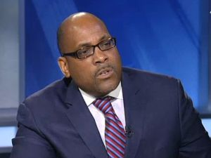 State Senate John Sampson. (Screengrab: NY1)