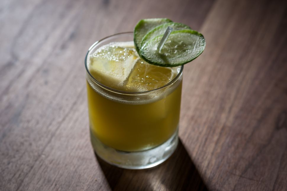 The Green Juice Cocktail: New Yorkers Are Now Boozing and Detoxing Simultaneously