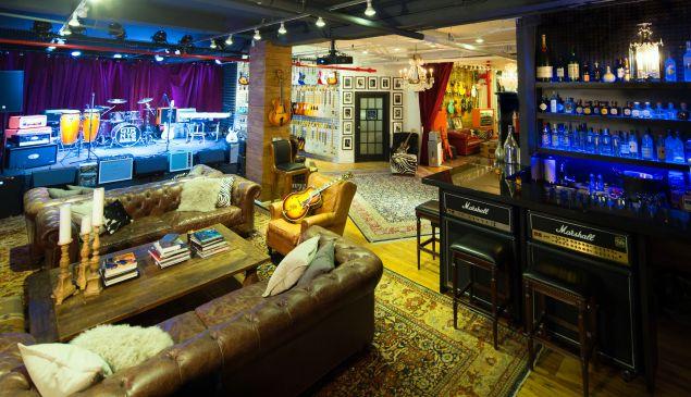D'Angelico Showroom