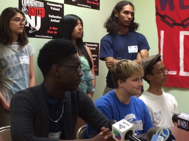 """Newark student protesters leave meeting with Anderson, Hespe feeling """"utter disrespect,"""" say demonstrations will continue"""