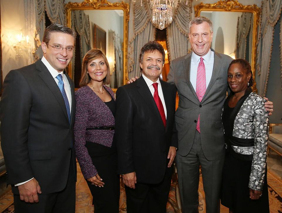 Bill de Blasio Backs Felix Ortiz For Re-election