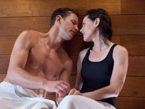 Who even has co-ed saunas? (Showtime)