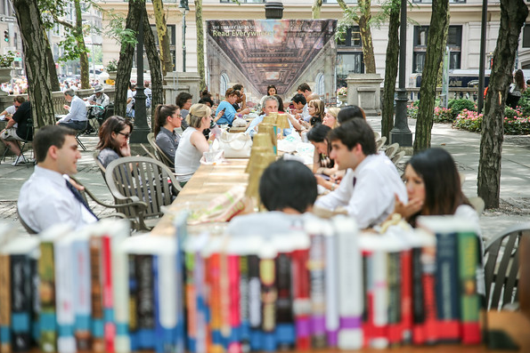 New York Public Library Opens Pop-Up Reading Room