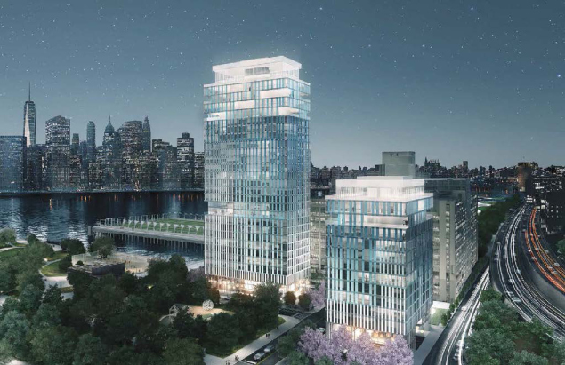 Brooklyn Tower Opponents Try to Redraw Lines in Construction Class War