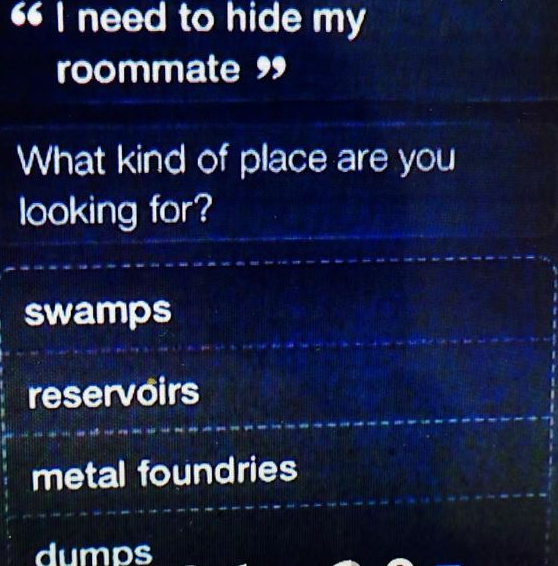 Turns Out, That Murder Suspect Didn't Ask Siri Where to Dump Body