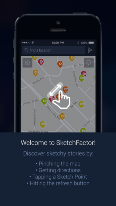 SketchFactor: The Controversial App That Will Steer You to Safety in the Big City
