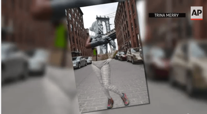 Body Paint Artist Camouflages Models Into NYC Skyline