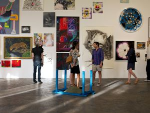 """Works in """"Another Cat Show"""" at 356 Mission Gallery in Los Angeles. (Courtesy 356 Mission)"""