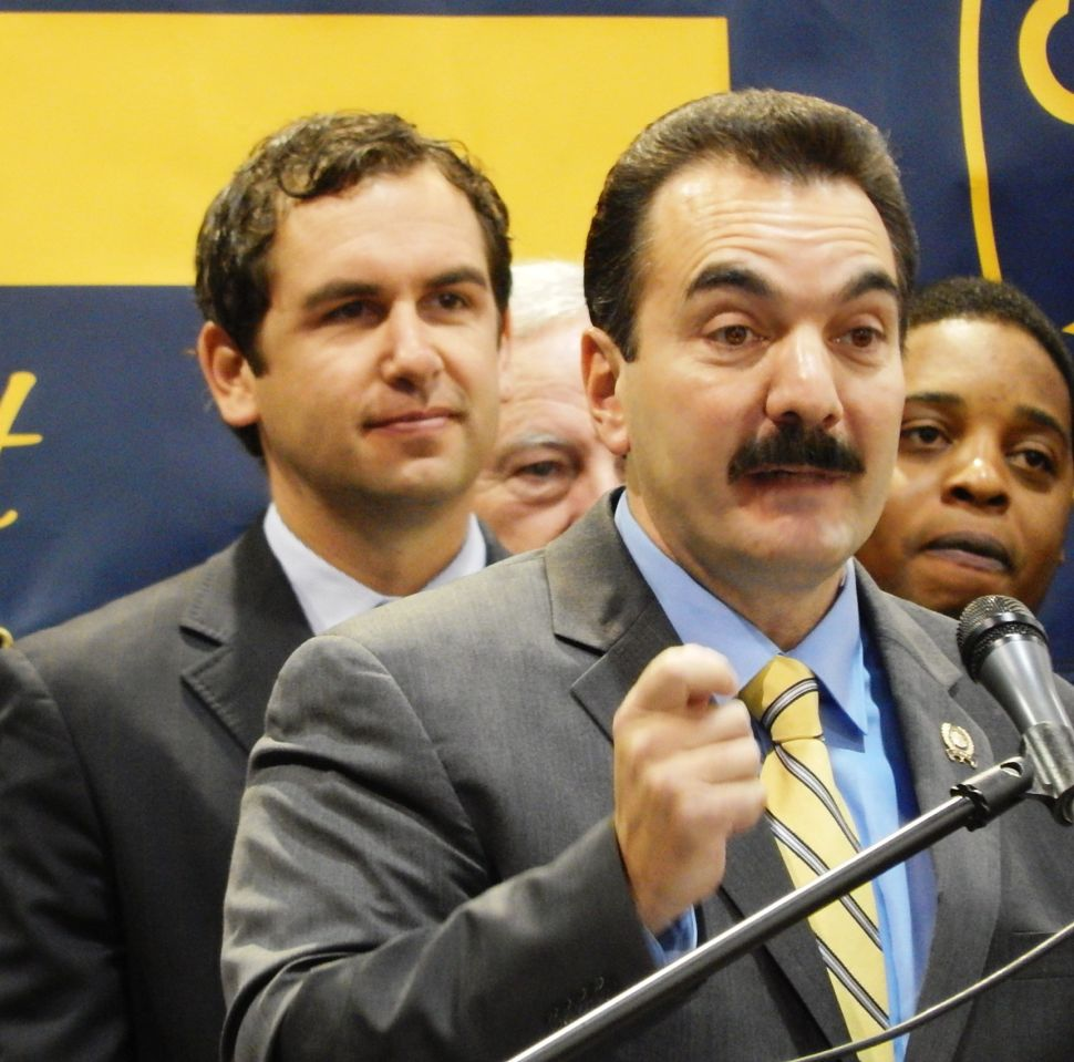 Prieto on No New Taxes Pledge Signed by Christie: 'BS'