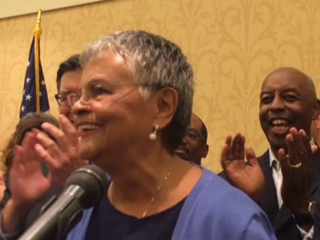"""CD 12 race: a victorious Watson Coleman on Dem primary win: """"My hometown showed up"""""""