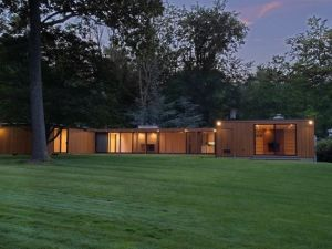 You can't buy the glass house, but you can buy the plywood house.