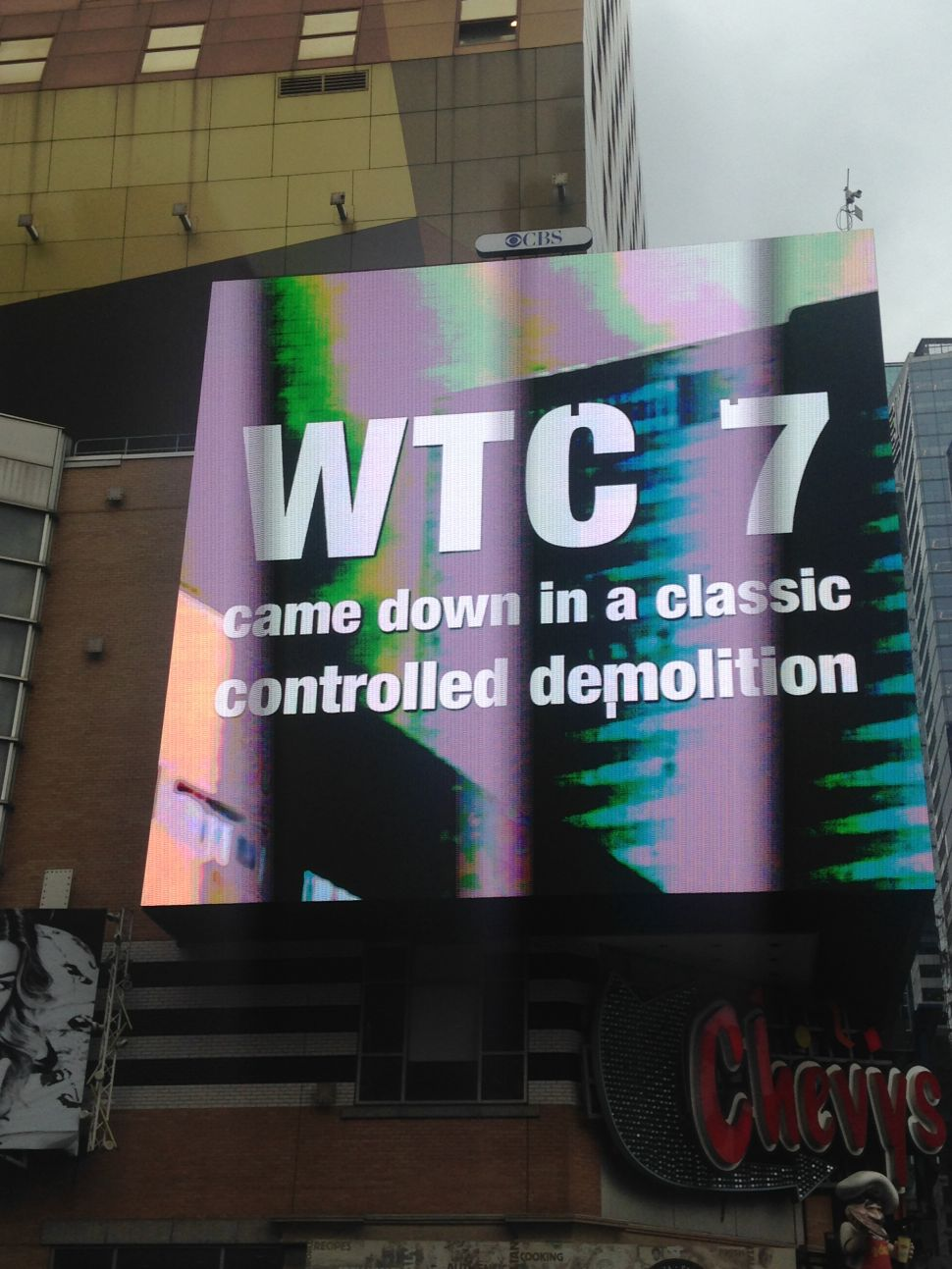 9/11 Truther Ads Now Playing on CBS-Owned Ad Space in Times Square