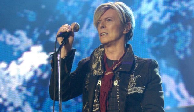 David Bowie. (Courtesy Getty Images)