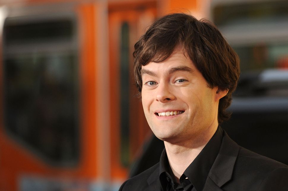 Funnyman Bill Hader on Going Serious: 'You Have to Empty Yourself a Little Bit'