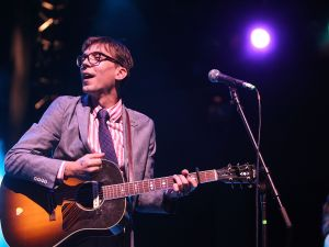 Photo: Getty Images. NEW YORK, NY - JUNE 30: Justin Townes Earle performs as part of Celebrate Brooklyn at the Prospect Park Bandshell on June 30, 2011 in the Brooklyn borough of New York City.
