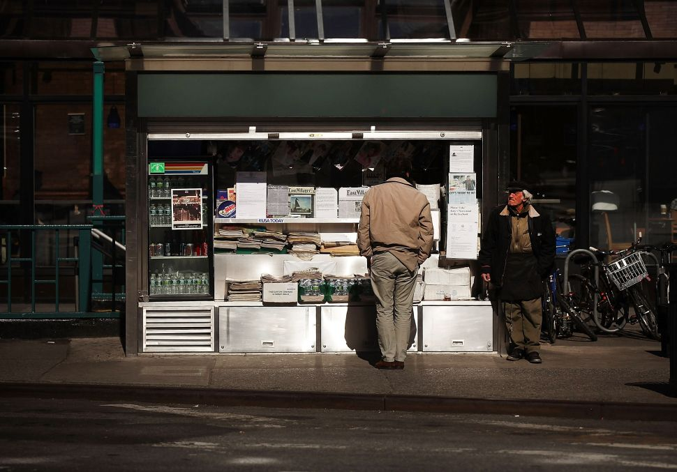 Are NYC Newsstands Nearing Oblivion?