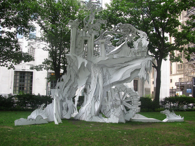 Folly in the Fall: A Day in the Park With Rachel Feinstein