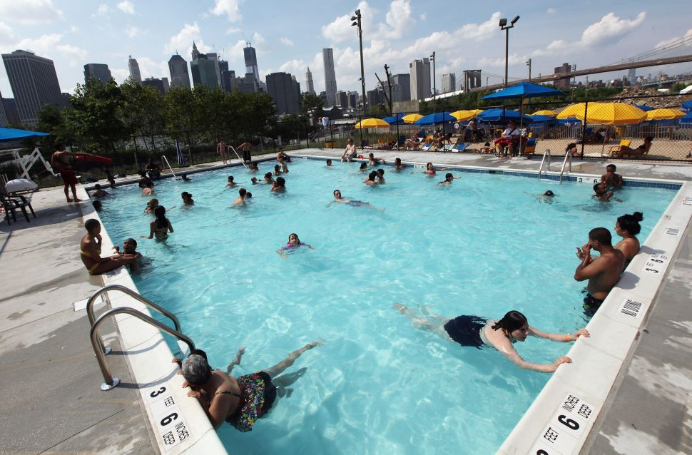 Despite the Heat Wave, New York's Pools Have All Been Drained for Winter