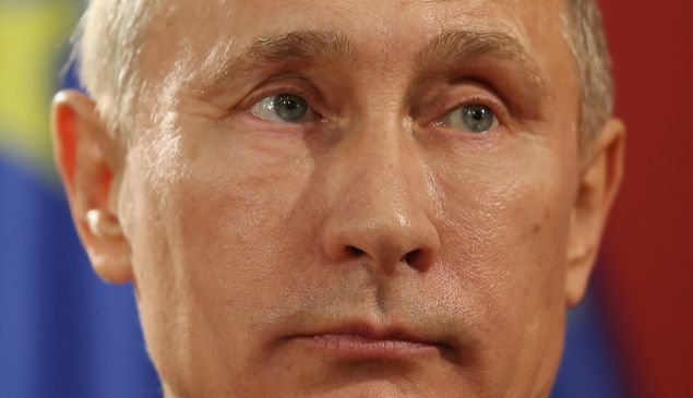 Russian President Vladimir Putin. (Photo by Sean Gallup/Getty Images)