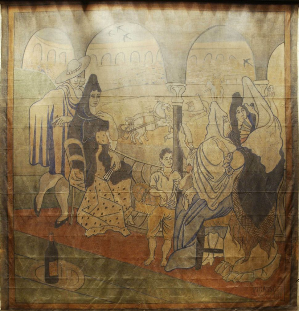 """It's Curtains for """"Le Tricorne"""" at the Four Seasons"""