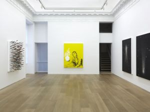 """View of the exhibition """"Float"""" at Galerie Perrotin, New York (2014). (Photograph by Guillaume Ziccarelli, Courtesy Galerie Perrotin)"""