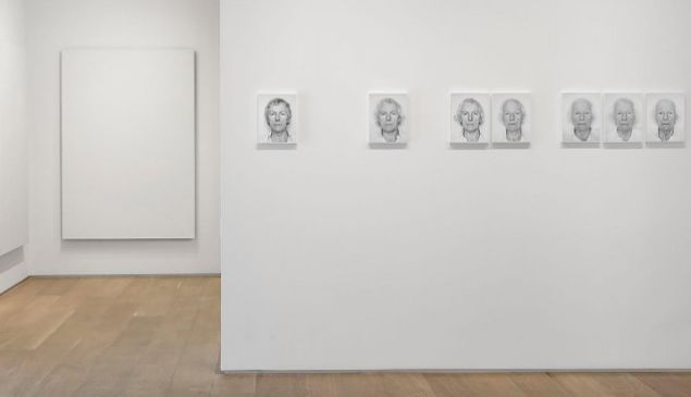 Roman Opalka, installation view. (Courtesy Dominique Lévy Gallery)
