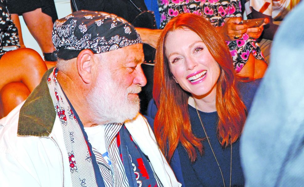 Julianne Moore on Fashion Power Brokers Teetering Around on 5-inchers at NYFW