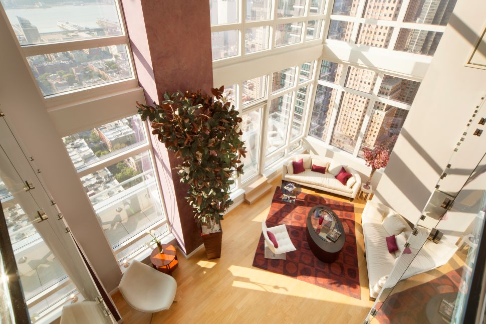 Glass House: A Stone's Throw From Hell's Kitchen, Three Floors of Windowed Bliss