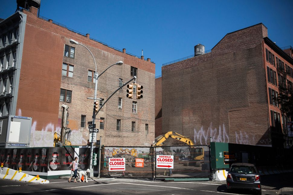 There Will Soon be a Million Dollar Parking Space in Soho